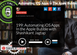 Automation iOS Apps in Apple Bubble