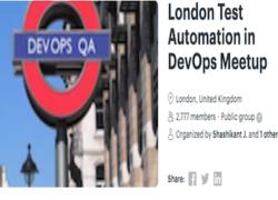 London Test Automation in DevOps Meetup